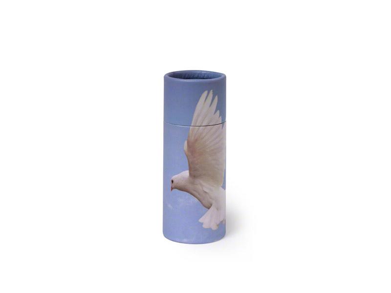 Scatter Tube Dove Design