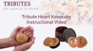 Tribute Heart Keepsake