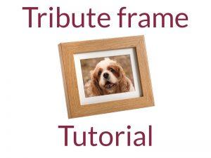 Tribute Frame Urns